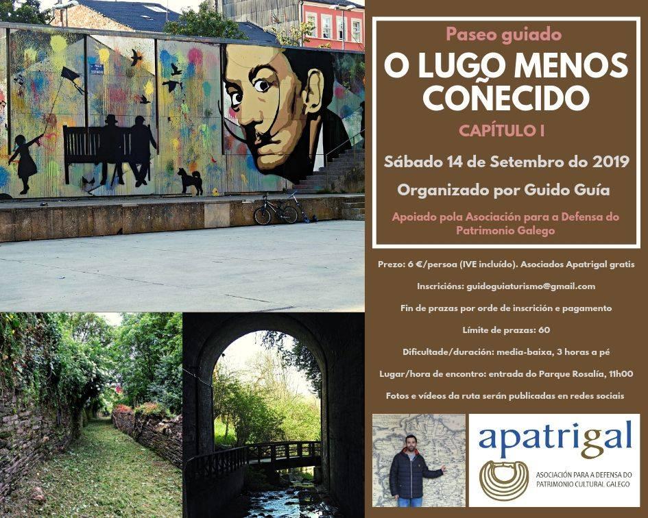 Paseo guiado polo Lugo menos coñecido
