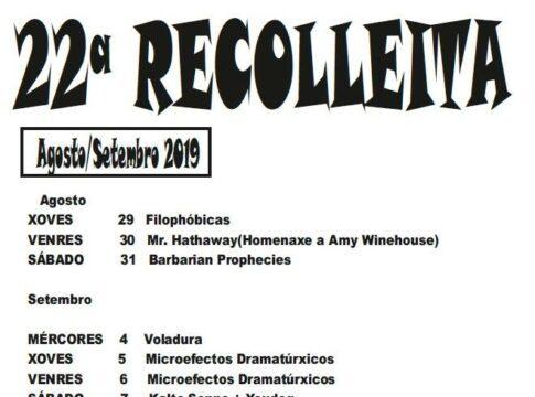 Recolleita Club Clavicembalo 2019