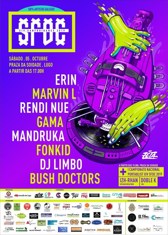 XIV Sanfroidance - Festival de música negra e electrónica