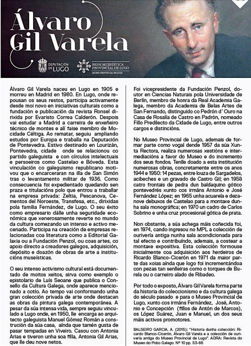 colección de Álvaro Gil Varela
